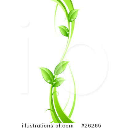 Royalty-Free (RF) Plant Clipart Illustration by beboy - Stock Sample #26265