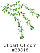 Royalty-Free (RF) Plant Clipart Illustration #38318
