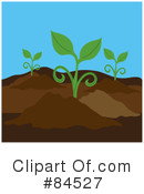 Royalty-Free (RF) Plant Clipart Illustration #84527