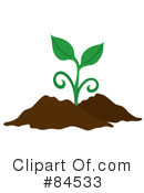 Royalty-Free (RF) Plant Clipart Illustration #84533