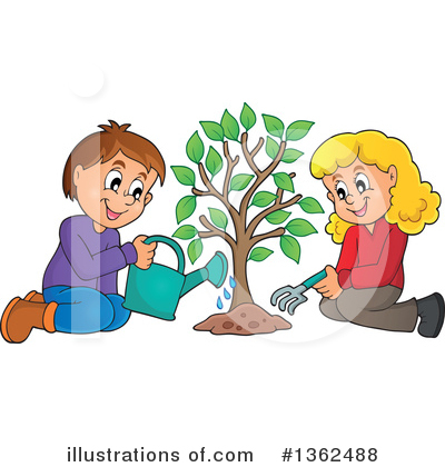 Tree Clipart #1362488 by visekart