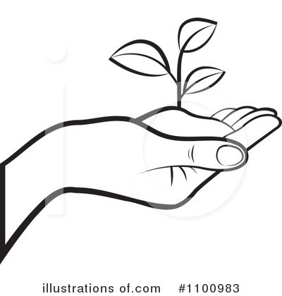 Royalty free rf plants clipart illustration by lal perera stock