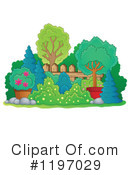 Royalty-Free (RF) Plants Clipart Illustration #1197029
