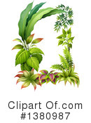 Plants Clipart #1380987 by Graphics RF