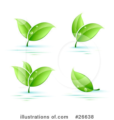 Royalty-Free (RF) Plants Clipart Illustration by beboy - Stock Sample #26638