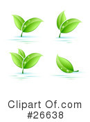 Royalty-Free (RF) Plants Clipart Illustration #26638