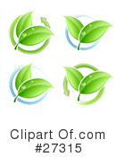 Royalty-Free (RF) Plants Clipart Illustration #27315