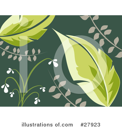 Leaves Clipart #27923 by KJ Pargeter