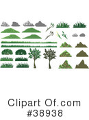 Royalty-Free (RF) Plants Clipart Illustration #38938