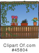 Royalty-Free (RF) Plants Clipart Illustration #45804