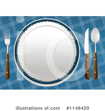 Plate Clipart #1148420 by Graphics RF