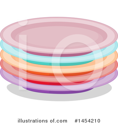 Plate Clipart #1454210 by Graphics RF