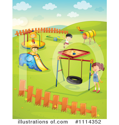 Teeter Totter Clipart #1114352 by Graphics RF