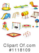 Royalty-Free (RF) Playground Clipart Illustration #1118109
