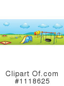 Royalty-Free (RF) Playground Clipart Illustration #1118625