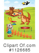 Royalty-Free (RF) Playground Clipart Illustration #1126685