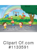 Royalty-Free (RF) Playground Clipart Illustration #1133591