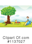 Royalty-Free (RF) Playground Clipart Illustration #1137027