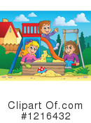 Playground Clipart #1216432 by visekart