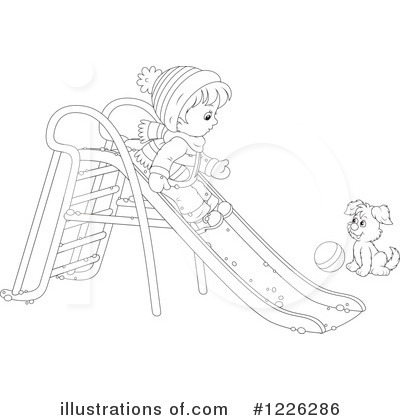 Playground Clipart #1226286 by Alex Bannykh