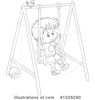 Playground Clipart #1226290 by Alex Bannykh