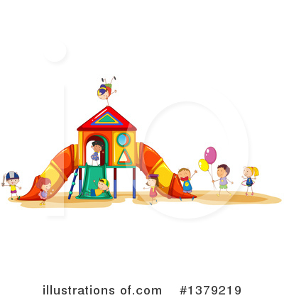 Royalty-Free (RF) Playground Clipart Illustration by Graphics RF - Stock Sample #1379219