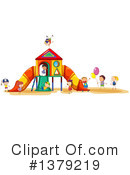 Royalty-Free (RF) Playground Clipart Illustration #1379219
