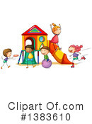 Playground Clipart #1383610 by Graphics RF