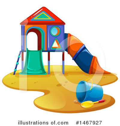 Playground Clipart #1467927 by Graphics RF