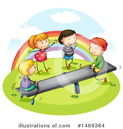 Teeter Totter Clipart #1469364 by Graphics RF