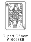 Playing Card Clipart #1606386 by AtStockIllustration