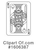 Playing Card Clipart #1606387 by AtStockIllustration