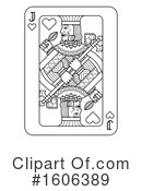Playing Card Clipart #1606389 by AtStockIllustration