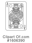 Playing Card Clipart #1606390 by AtStockIllustration