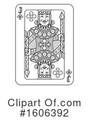 Playing Card Clipart #1606392 by AtStockIllustration
