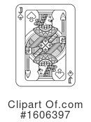 Playing Card Clipart #1606397 by AtStockIllustration