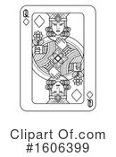 Playing Card Clipart #1606399 by AtStockIllustration