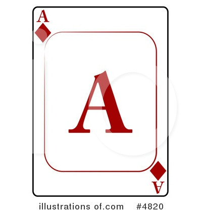 Playing Card Clipart #4820 by djart