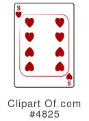 Playing Card Clipart #4825 by djart