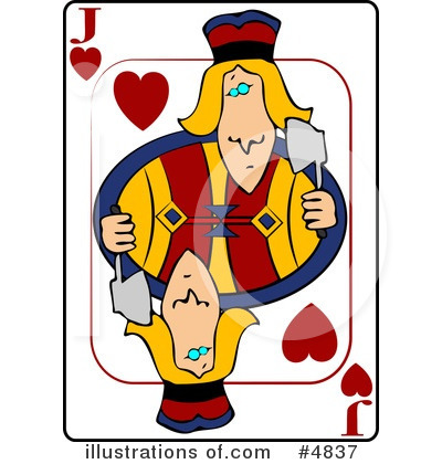 Playing Card Clipart #4837 by djart