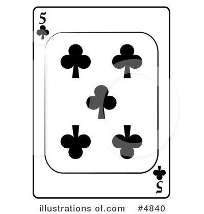 Playing Card Clipart #4840 by djart