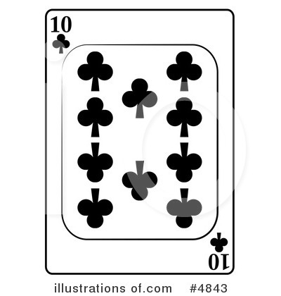 Playing Card Clipart #4843 by djart
