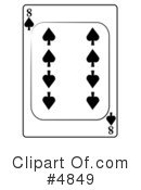 Playing Card Clipart #4849 by djart