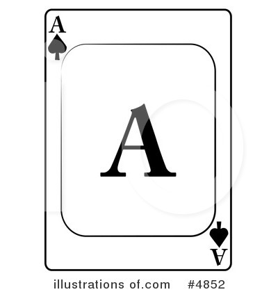 Playing Card Clipart #4852 by djart