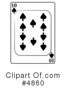 Playing Card Clipart #4860 by djart