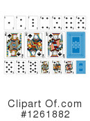 Royalty-Free (RF) Playing Cards Clipart Illustration #1261882