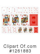 Royalty-Free (RF) Playing Cards Clipart Illustration #1261883