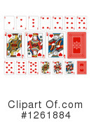 Royalty-Free (RF) Playing Cards Clipart Illustration #1261884