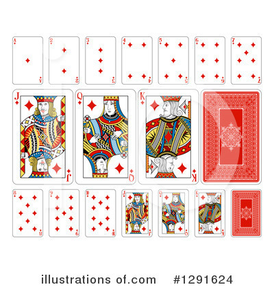 Gambling Clipart #1291624 by AtStockIllustration