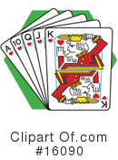 Playing Cards Clipart #16090 by Andy Nortnik